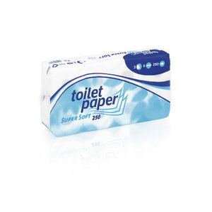 Toilet paper SuperSoft/ 3- ply/ 3 x 34,5 m, WEPA