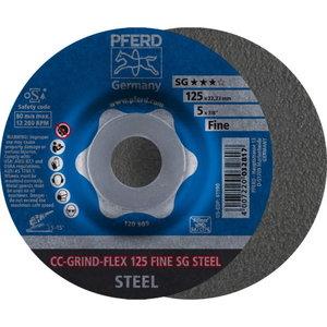 Diskas 125mm FINE CC-GRIND-FLEX, Pferd