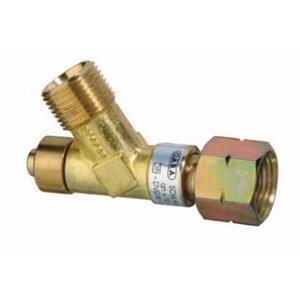 Damaged propane hose safety device 2 x R 3/8´´ L, Rothenberger