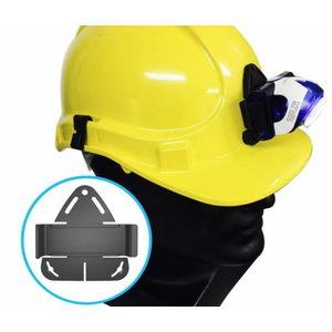 Helmet connecting kit for SEO, LedLenser