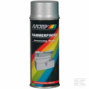 Sepiseefektika värv HAMMERFINISH hõbe 400ml aerosool, Motip