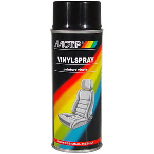 VINYL SPRAY, black 400ml, Motip