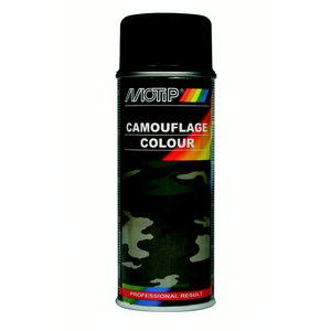Camouflage RAL 8027 izsmidzināmā krāsa brown 400ml, Motip