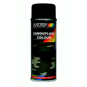 Camouflage, RAL 8027, spray paint 400ml, Motip