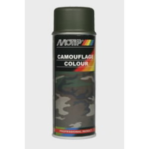 Purškiami dažai  Camouflage RAL 6006 green 400ml, Motip