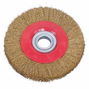 Steel brush wheel 150 x 20 x 12,7 mm, Bernardo