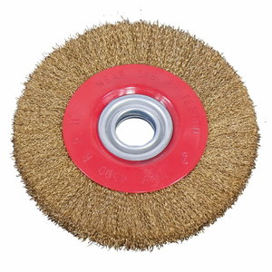 Steel brush wheel 150 x 20 x 12,7 mm, Bernardo