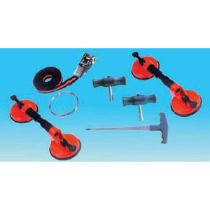 Windscreen mounting and dismounting kit, Spin