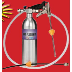 DPF flush kit, Spin