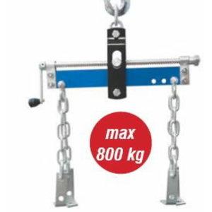 Mootori tõstemehhanism kettidega, 800kg, Spin