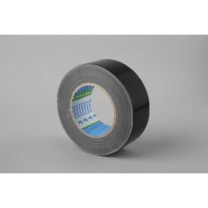 Juosta medžiaginė, atspari vandeniui juoda 270my 48mmx50m, Folsen