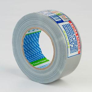 Ūdensizturīga auduma lente pelēka 270my 48mmx50m
