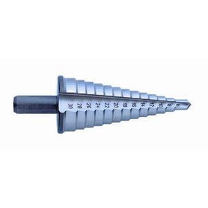Koniskais pakāpjurbis HSS 6-30mm  781-630, Exact