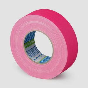 Mitrumizturīgās FLUO Gaffer līmlente rozā 300my 48mmx50m, Folsen