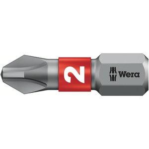 Otsak PH2/25 851/1BTZ metallile, Wera