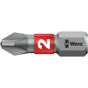 Otsak PH2/25 851/1BTZ metallile, Wera