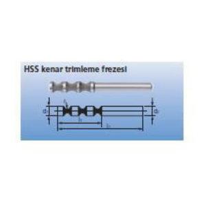 Freza HSS 8x30/6mm C-SP Radiusas 5,0mm, Pferd