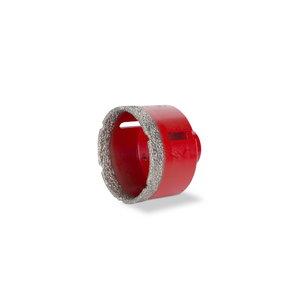 """Deimantinis  grąžtas, sausam pjovimui  3"""" (75 mm.), Rubi"""
