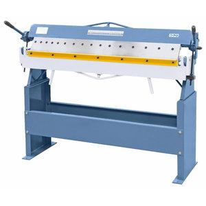 Manual folding machine with segmented upper beam SB 1220 S, Bernardo
