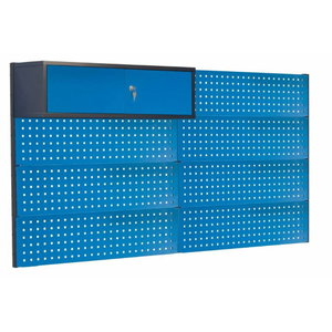 Perforated wall with cabinet 2000mm, PROMAG