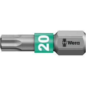 насадка TX20/25 867/1BTZ для металла, WERA