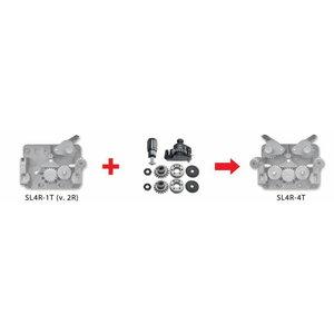 Ümberehituskmpl. 2 rullilt 4 rullile (2 veorulli) 1,0/1,2mm, Böhler Welding