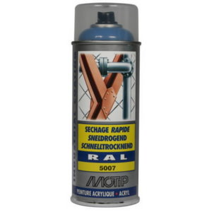 Spray paint RAL 5007 Blue high gloss 400ml, Motip