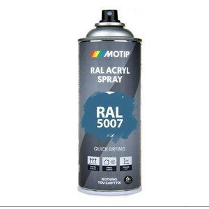 Spray paint RAL 5007 Blue high gloss 400ml, Motip