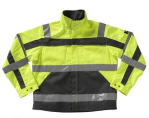 Jacket CAMETA HIGH VISIBILITY YELLOW/ANTRACITE L, Mascot