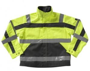 Рабочая куртка Cameta с отражателями, желтая/серая, размер L, MASCOT