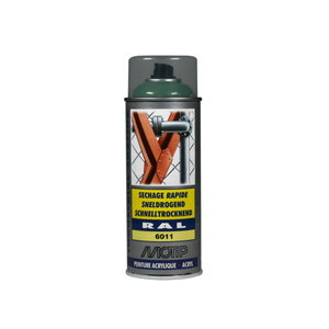 Spray paint RAL 6011 Green high gloss 400ml