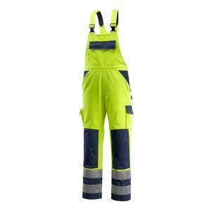 Tööpüksid traksidega Barras kõrgnäht. kollane/t.sinine, Mascot