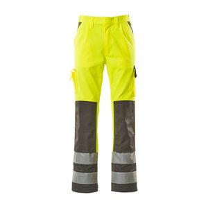 Tööpüksid Olinda kõrgnähtavus EN471 kollane/tumehall 82C54, Mascot