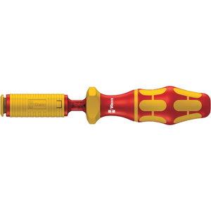 Reguliuojama dinamometrinė rankena  7444 VDE. 1.7-3.5 Nm, Wera