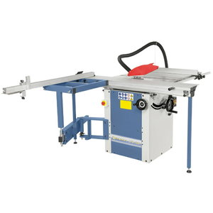 Sliding table saw STS 1600