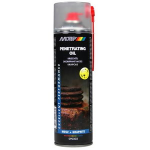 Immutusõli PENETRATING OIL 500ml aerosool, Motip