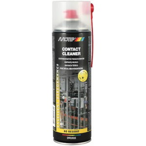 Kontaktų valiklis CONTACT CLEANER 500ml aerozolis, Motip