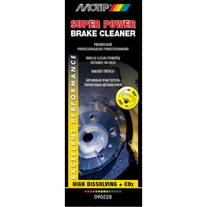 Piduripuhasti/puhastusaine SUPER POWER BRAKE CLEANER 500 ml, Motip