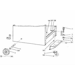 Rataste komplekt HC 410-le
