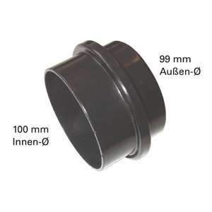 Coupling adapter for chip extractor, Metabo
