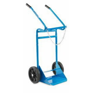 Gas cylinder trolley for one bottle, capacity max 200 kg, OMCN