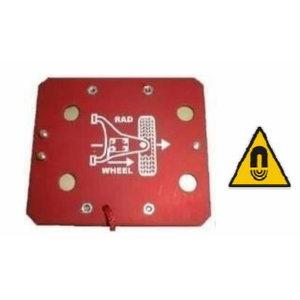 Standard adapter for  inclinometer, Romess