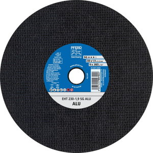 Pjovimo diskas metalui 230x1,9mm SG ALU EHT, Pferd