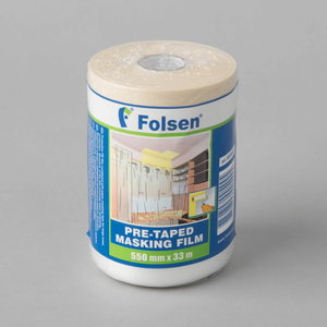 Painting tape with protective film, Folsen