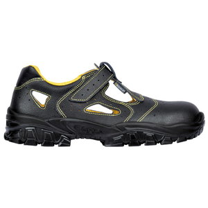Safety sandals  Don S1, black, 43, Cofra