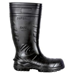 Gumijas aizsargzābaki  Safest Black S5 CI SRC, melni, 3 38, Cofra