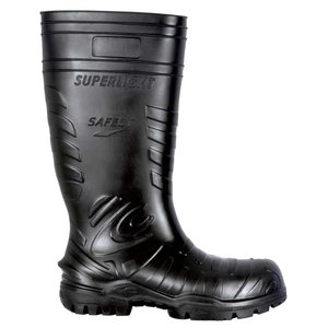 Gumijas aizsargzābaki  Safest Black S5 CI SRC, melni, 4 44, Cofra