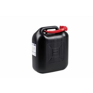kütusekanister 20L, valamisotsikuga, must