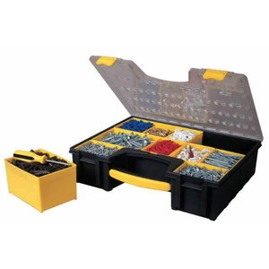 Detaļu kaste L ar 8 izņemamiem nodalījumiem, Stanley
