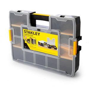 Detaļu kaste L ar izņemamiem stapsienu nodalījumiem, Stanley